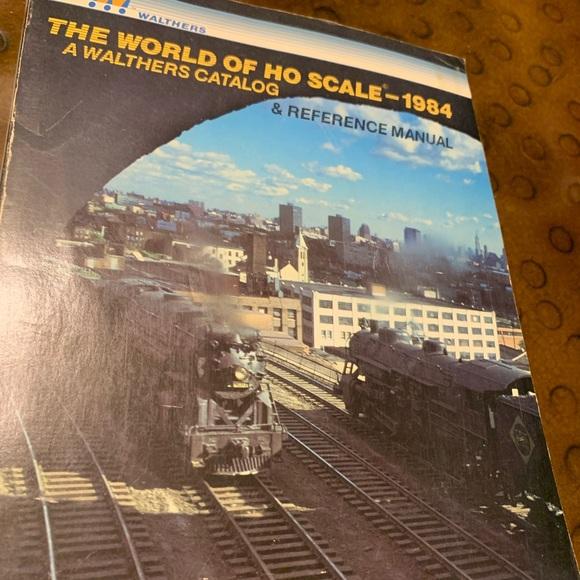 Model Railroad Catalog- 1984 World of HO Scale